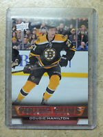 13-14 UD Serie 1 RC Rookie YG Young Guns #202 DOUGIE HAMILTON