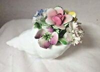 Royal Doulton Figurine England Shell with Flowers
