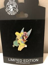Disney Pin 77855 Puppet Series Tinker Bell Tick Tock & Capatain Hook Le 250