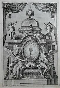 Gravures Jean Le Pautre Suite 5 Planches Retables d'Autels à l'italienne 1660