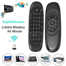 C120 2.4G Fly Air Mouse Mini Wireless Keyboard Remote Control For TV Box TV S4P1