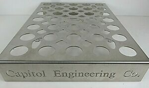 Stainless Steel Capital Engineering Advertising Display Stand Holder