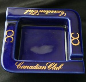 Vintage CANADIAN CLUB China Advertising Ashtray