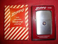 Vintage ZIPPO American Legion Lighter in Original Box Pat. 2032695  Unused