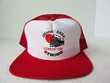 Vintage Arcade Area Comin' on Strong Train Snapback Trucker New Era Hat Cap USA