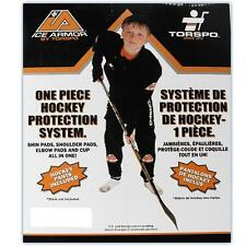 Torspo Ice Armour hockey equipment kit youth large new shoulder shin elbow set
