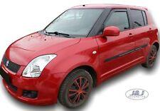 Suzuki Swift htb 2005-2010 Front wind deflectors 2pc set TINTED HEKO