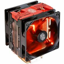 Cooler Master CPU Heatsink Fan Hyper 212 Red LED Turbo Intel & AMD CPU Cooler