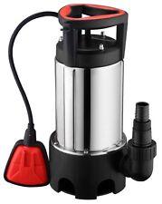 Pompe Vide Cave Eaux Chargees INOX - 750W-13m3/h-MASTER PUMPS -MPS752I