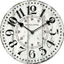 """Orologio da parete stile vintage """"Grand Hotel"""", in legno, cm 34"""