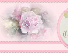 Chic Pink Shabby Vtg Roses Boutique Ebay Compliant Auction Listing Template IMCC