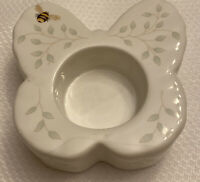 Lenox Tealight Candle Holder Lady Bug Bee Porcelain Butterfly Shape
