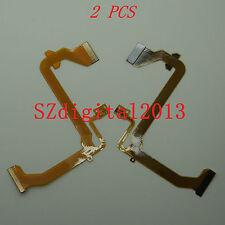 2PCS/ LCD Flex Cable For Panasonic NV- GS17 GS19 GS21 GS25 GS28 GS31 GS35 GS38