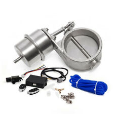 "Vacuum Actuator CUTOUT& 2.5"" 63mm Pipe Exhaust CLOSED Valve& Wireless Controller"