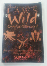 Laws of the Wild Changing Breeds 1  Mind's Eye Theatre  WW5019   White Wolf LARP