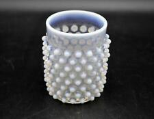 Vintage EAPG Hobnail Opalescent Glass Tumbler