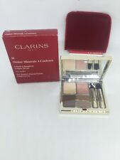 CLARINS OMBRE MINERALE 4 COULEURS EYE QUARTET MINERAL PALETTE # 02 NUDE BOXED