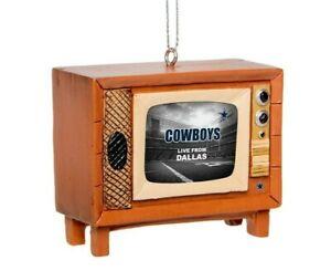 Dallas Cowboys Christmas Tree Holiday Ornament New - Logo Nostalgia Retro TV