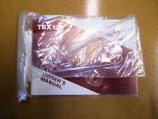 Honda 1985 TRX125 85 TRX 125 Factory OEM Owners Manual