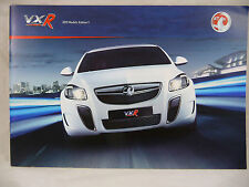 Vauxhall- VXR Models - A5 Brochure 2011 Edition 1 - New - Insignia astra corsa