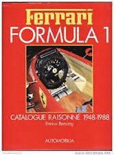 FERRARI FORMULA 1 CATALOGUE RAISONNE, NEW 1988 HARDBOUND BOOK /  Best Offer?