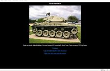 M24 Chaffee Photo Detail CD-Rom Toadman's Tank Pictures  Download version