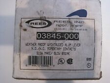 NEW REES 03845-000 WEATHER PROOF LEVER 03845000