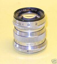 """Dr. Hensoldt """"Proto"""" 55mm 1:1,8  - extremely rare M39 Lens - only ten made?!"""