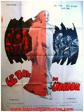 LE BAL DU VAUDOU Affiche Cinéma / Movie Poster 1973
