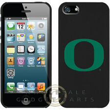 "Apple iPhone 5S/SE Licensed Shield NCAA Oregon Ducks Green ""O"" Case Cover Shell"