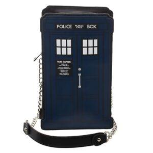 Doctor Who Tardis Police Box Deluxe Die Cut Handbag