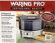 WaringPro 620W 5-Tray Professional Food Dehydrator Wdhr60Silpc