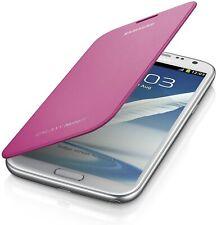 Genuine Samsung Galaxy Note 2 II N7100 N7105 Pink Book Diary Flip Case Cover NFC