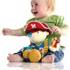 """Learn to Dress Up Pirate Special Needs 15"""" Tactile fidget Dressing Skills 5DRUP"""