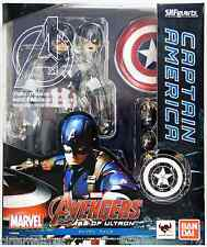 S.H.Figuarts Captain America The Avengers Age Of Ultron Action Figure BANDAI