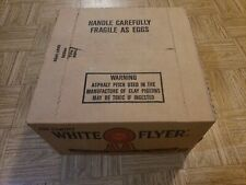 White Flyer Clay Orange Dome Skeet Targets case of 135 new in box