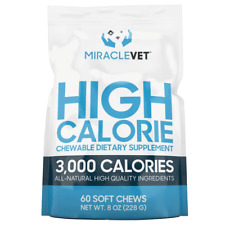 Miracle Vet Weight Gaining Chews (3,000 calories per bag) (Bully Max) Official