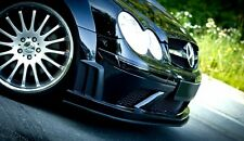 Alerón labio Front alerón alerón difusor mercedes clk w209 AMG Black Series