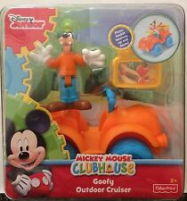 NIB Fisher-Price Disney Mickey Mouse Clubhouse Goofy Outdoor Cruiser Playset