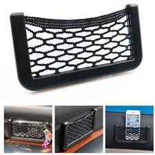 Car Auto String Mesh Cellphone Cigarette Holder Storage Bag Pouch Net Organizer