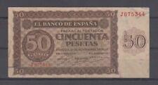 EDIFIL 420a.  50 PTAS 21 DE NOVIEMBRE DE 1936 SERIE J