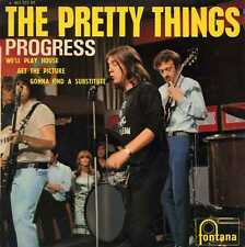 """PRETTY THINGS """"PROGRESS"""" ORIG FR 1966 VG+/VG+"""