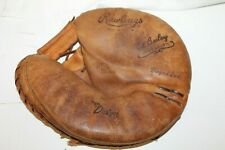 Rawlings Ed Bailey Catcher's Mitt Vintage Glove