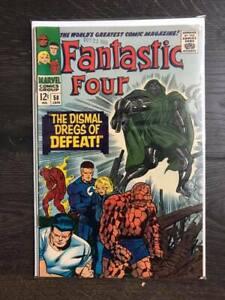 FANTASTIC FOUR # 58 VF 1967 - DR DOOM, INHUMANS, SILVER SURFER, GALACTUS,