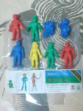 Capitaine Flam CAPITAN FUTURO JAPAN GUM FIGURE SET X8 SF CAPTAIN FUTURE TOEI