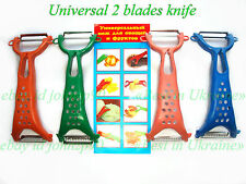 #ab* KNIFE CLEANER CUTTER PEELER FOR FRUITS AND VEGETABLES 2 BLADES