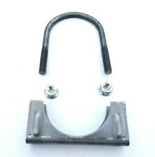 """Parts Master Heavy Duty Exhaust Clamp Saddle Clamps 2 3/4"""" / 70mm 517234"""