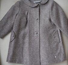 BABY DIOR Métallique bouclette manteau 24 mois