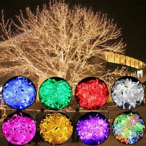 100-400 LED Fairy Lights 10M-50M String Lamp Wedding Party Tree New Year Decor