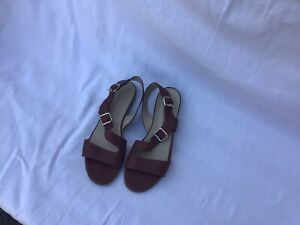 Hobbs London Sandals Size 7 Tan Leather Good Con.